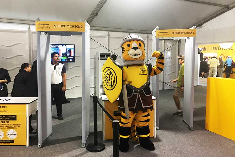 Security Centry Guard Malaysia Maybank Event